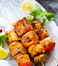 Barbecue from Indian Tandoor