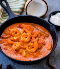 Goan Prawns Curry from Indian Tandoor