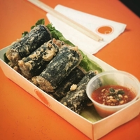 Seaweed Dumpling from Kelly's Cape Bop