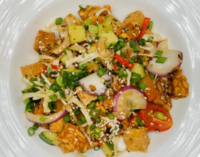 Crispy Tempeh & Tofu Salad with Citrus Dressing from Jaxs Bistro