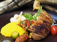Ayam Bakar (Chicken) Bento from Arang Indo Charcoal Grill