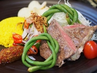 Lombok Steak (Beef) Bento from Arang Indo Charcoal Grill