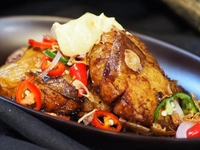 Potato Penyet from Arang Indo Charcoal Grill