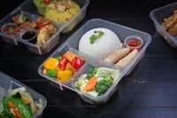 Steamed Rice Vegetarian Bento - Jai Siam from Jai Siam