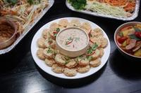 Rice Crackers with Peanut Sauce - Jai Siam from Jai Siam
