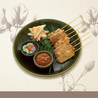 BBQ Pork Satay from Apinara Thai Cuisine and Bar