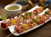 Grilled Seasoned Prawns from Muchos