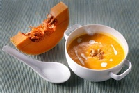 Butternut squash soup with cashew cream from Food Folk