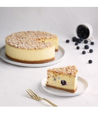 Blueberry Hazelnut Cake from Cedele.