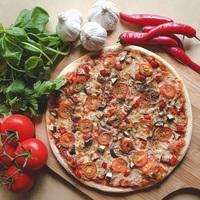 Not Quite Vegan Pizza from DePizza
