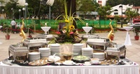 Outdoors Buffet Setup from Yeh Lai Siang