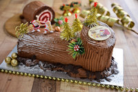 Christmas Log Cake from Jack's Place Catering
