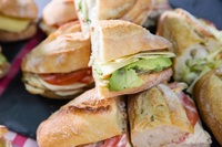 Sandwich Sharing Platters for Office Lunches, Kids' Parties and Events from La Sandwicherie