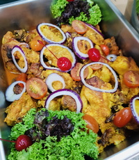 Indonesia Style Ayam Rica Rica from Rilassi Catering