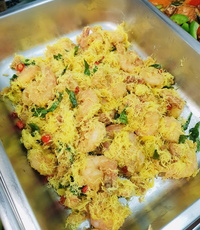 Shredded Buttered Prawn from Rilassi Catering