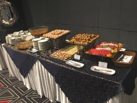 Canapes Catering Setup - Royal Catering. from Royal Catering.