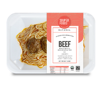 Spaghetti Beef Meatball Bolognaise from SouperFoods
