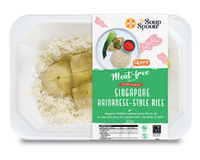 Singapore Hainanese-Style Rice [Meat-Free]  from SouperFoods