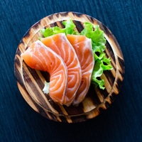Salmon Sashimi from Hokey Poki