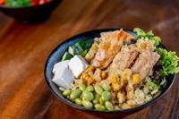 Vegetarian Tempura Platter Don from Hokey Poki