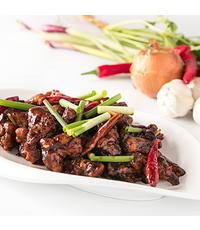 stir fried pork  - Des Kitchen catering from Des Kitchen
