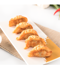 fried gyoza  - Des Kitchen catering from Des Kitchen