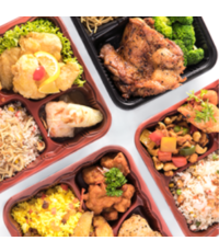 bento box  - Des Kitchen catering from Des Kitchen