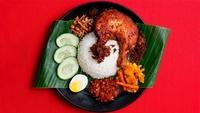 Nasi Lemak Ayam Goreng Berempah  from Uptown Nasi Lemak