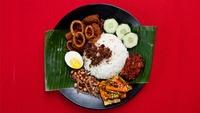 Nasi Lemak Sambal Sotong from Uptown Nasi Lemak