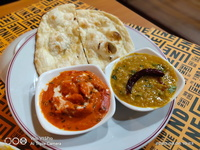 Butter Chicken Set (Butter Naan) from Indline Indian Cookery