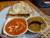 Paneer Butter Masala Set (Butter Naan) from Indline Indian Cookery
