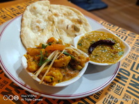 Veg Set (Butter Naan) from Indline Indian Cookery