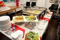 Buffet Catering Setup - Creative Eateries from Creative Eateries