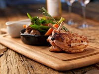 grilled chicken thigh - Creative Eateries from Creative Eateries