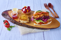Snack Box C from How's Catering