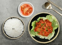 Kimchi and Pork Rice Bowl from Lee Fa Yuen Express