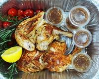 1.8kg Chicken Platter from Rotisserie By Crunch