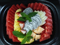 Fresh Fruit Salad from Rotisserie By Crunch