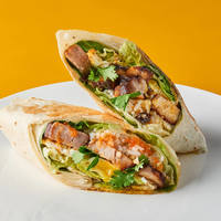 Char Siew Wrap from Wrap Bstrd