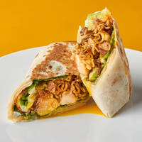 Indomie Wrap from Wrap Bstrd