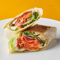 Salmon  Wrap from Wrap Bstrd