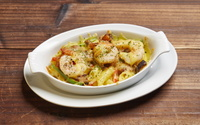 Baked Prawn with Alfredo Sauce (Pasta) from Goldilock's Oven