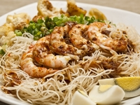 Mee Siam from Katong Laksa Prawn Mee