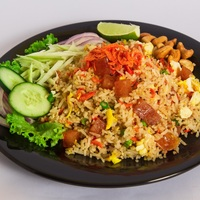 Shrimp Paste Fried Rice from Time For Thai