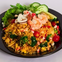 Tom Yum Seafood Fried Rice from Time For Thai