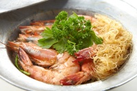 Baked Tiger Prawn with Glass Noodl from SOM TAM