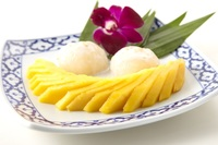 Sticky Rice with Mango from SOM TAM