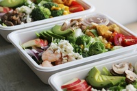 Jumbo Salad from Seoul Bros