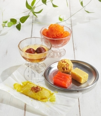 Sweet Desserts from Saravanaa Bhavan