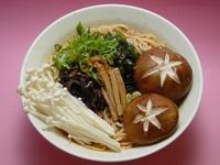 Mushroom Ramen from Beppu Menkan Restaurant